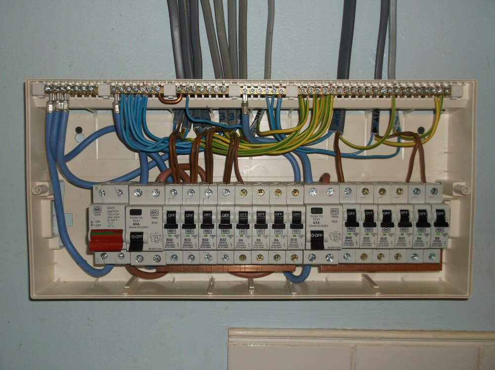 Lovely Wylex Consumer Unit Wiring Diagram Contemporary Rheidetec: Consumer Unit Wiring Diagram Uk A Garage At Elf-jo.com