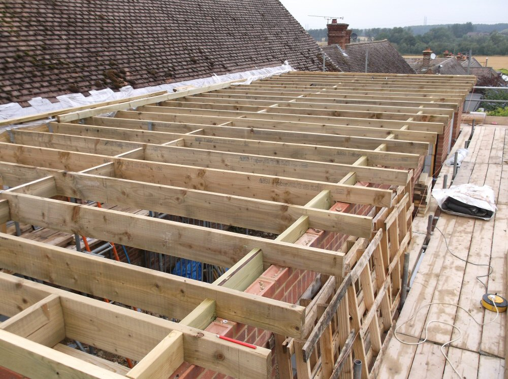 Roofing joist typical arrangement of a rafter and purlin for Rafter beam